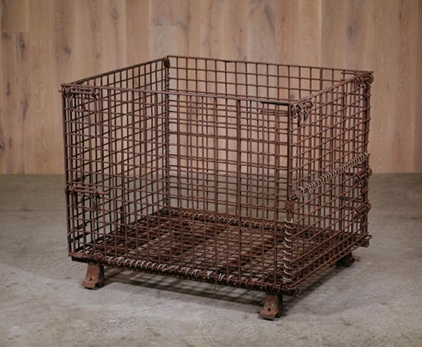 wire mesh gaylord box