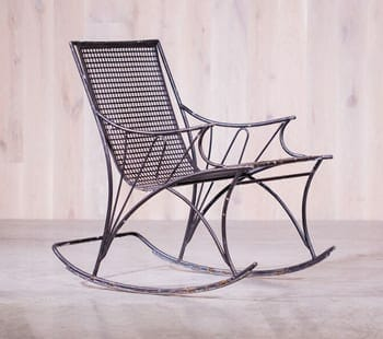 Midcentury Modern Rocking Chair