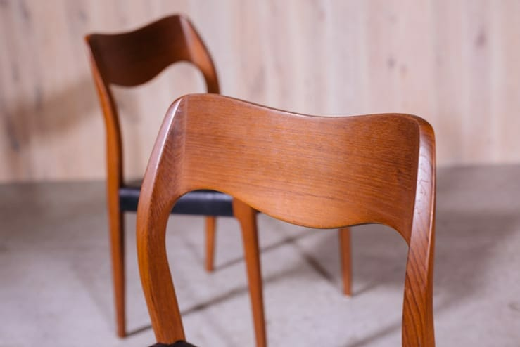 Niels Otto Moller Dining Chairs