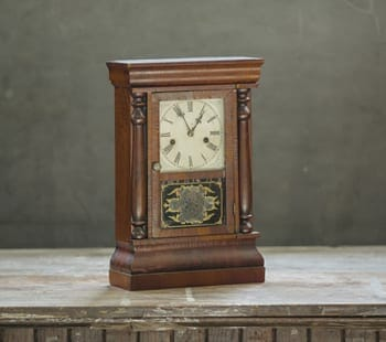 antique empire clock