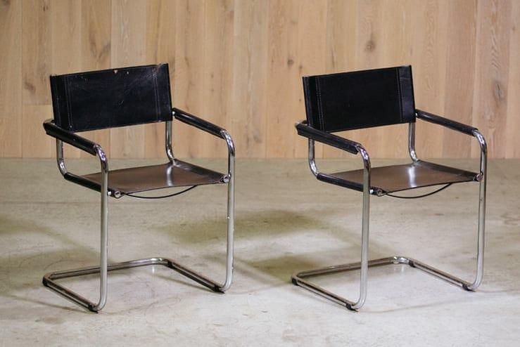 Breuer-Style Armchairs