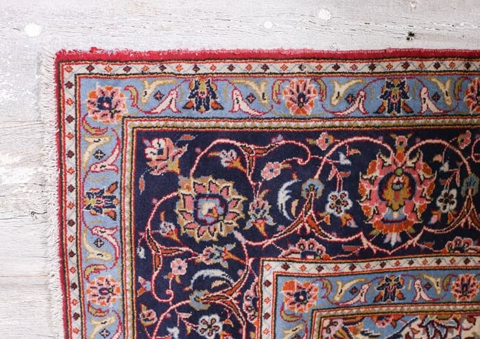 Vermillion Vintage Tabriz Rug