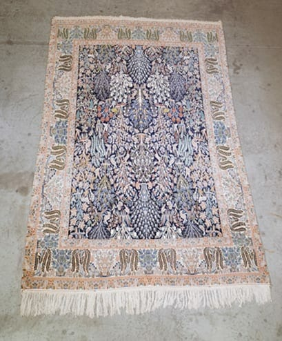 Tree of Life Vintage Pakistani Rug