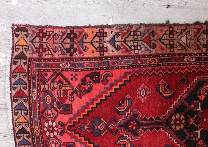 floral border vintage oriental runner