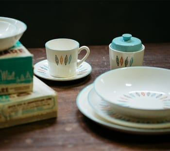 Nordic Mint Dish Set