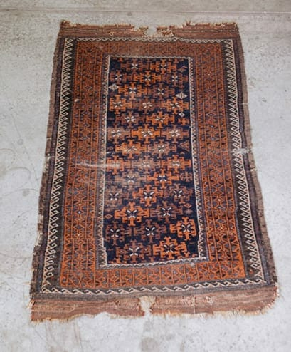 vintage sarouk rug