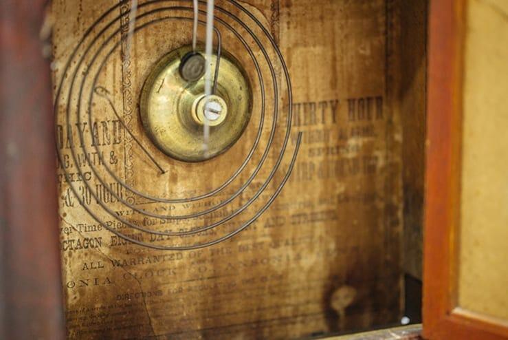 Vintage Cathedral Shelf Clock