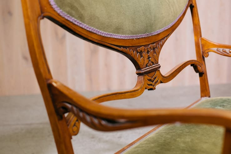 Carved Settee