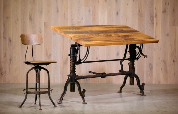 Morse Machine Company Drafting Table