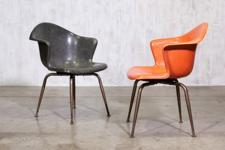 douglas fibreglass chair