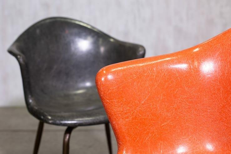 douglas fibreglass chair