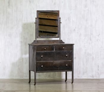 Industrial Steel Dresser