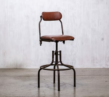 Industrial Swiveling Stool