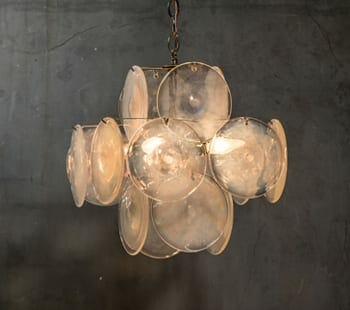 Murano art glass chandelierr