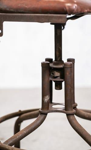 Industrial Swiveling Stool