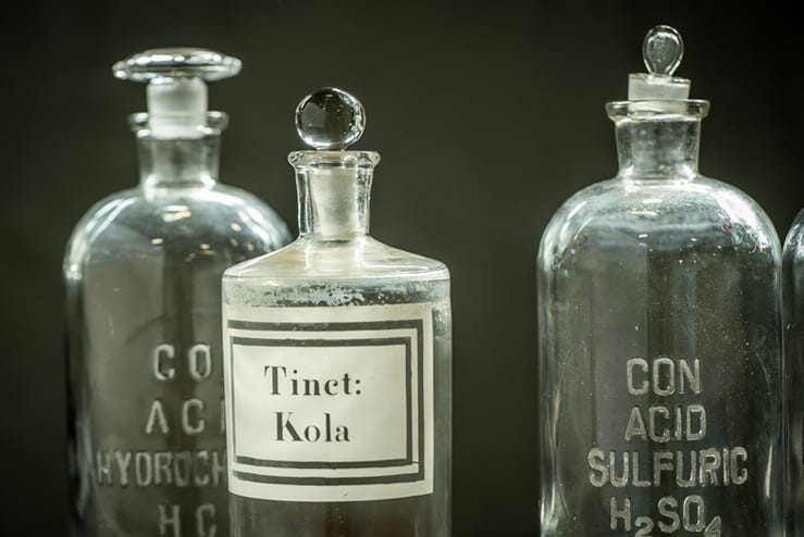 Antique Chemistry Bottles
