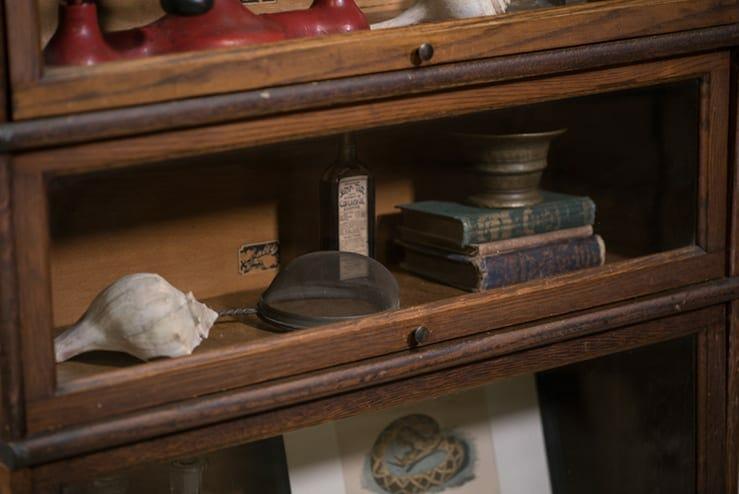 Hale's Stacked Bookshelf