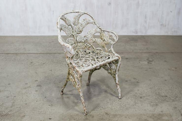 coalbrookdale fern garden chair