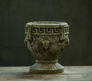 Grecian Concrete Planter