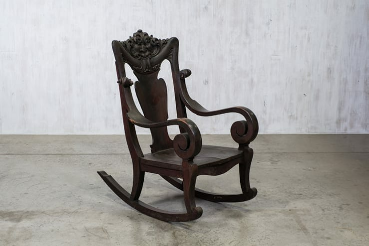 Green Man Rocking Chair