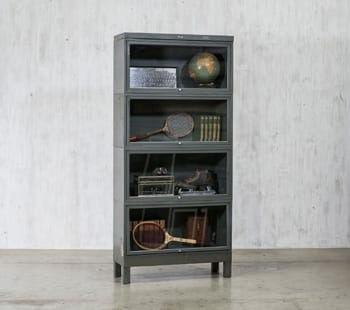 Metal Barrister Bookcase