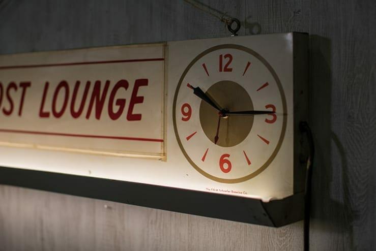 Vintage Schaefer Illuminated Sign