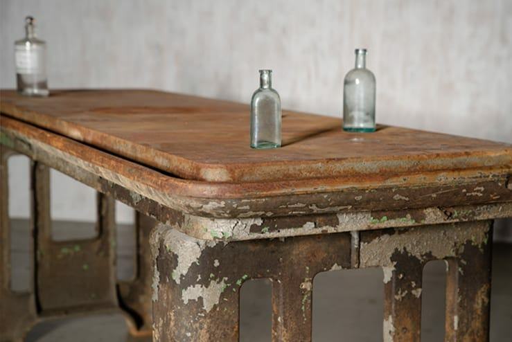 Industrial Machine Shop Table