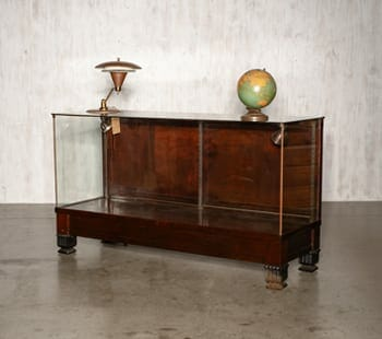 O.F. Zurn Display Case