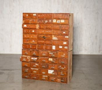 Small Hungarian Hardware Cabinet