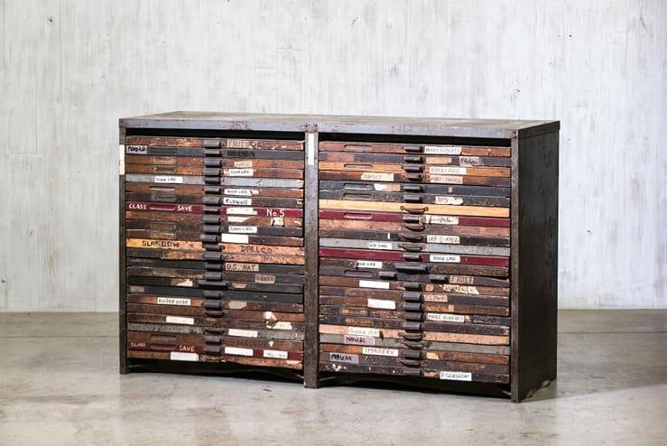hamilton manufacturing printers cabinet