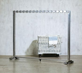 lycee aluminum coat rack