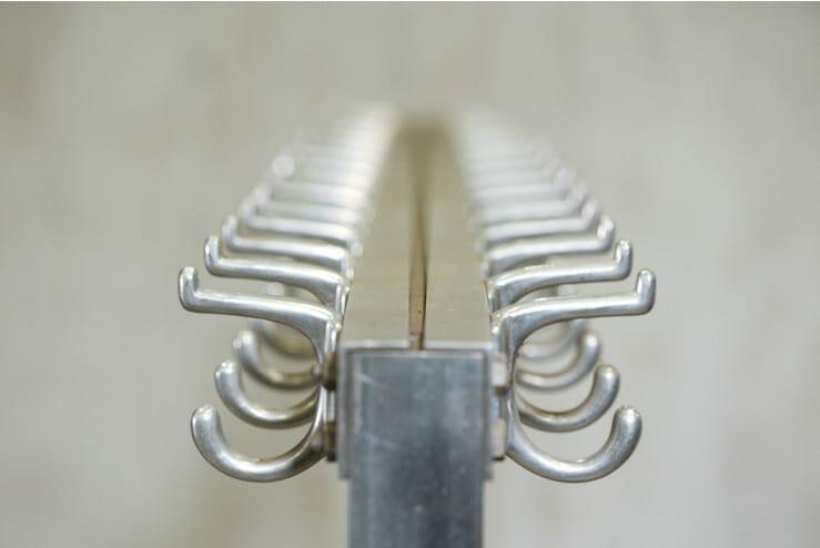 lycee aluminum coat rack