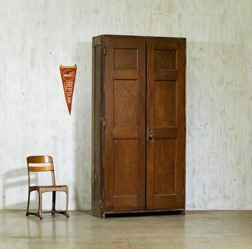 vintage schoolhouse cabinet