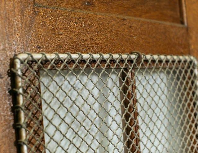 mesh window classroom door