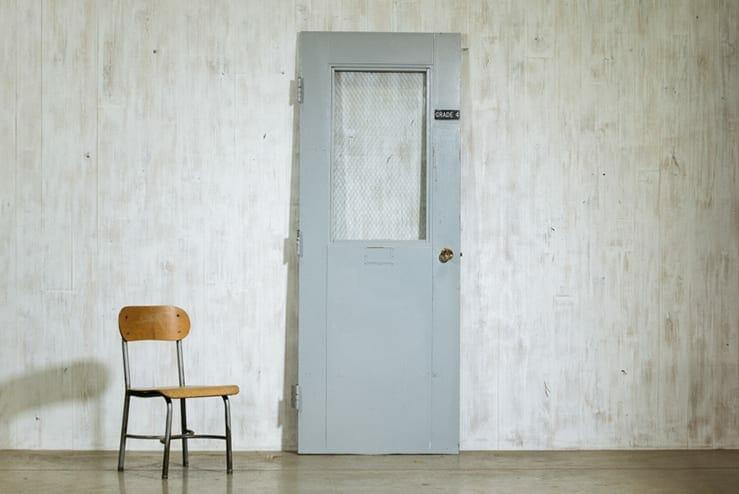 steel classroom doorr