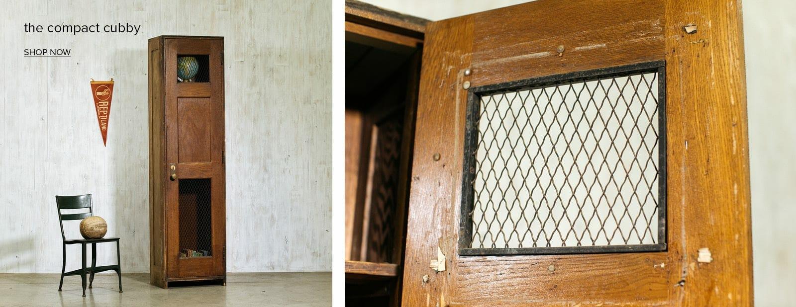 schoolhouse cabinet