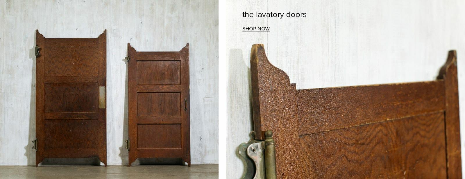 vintage schoolhouse doors