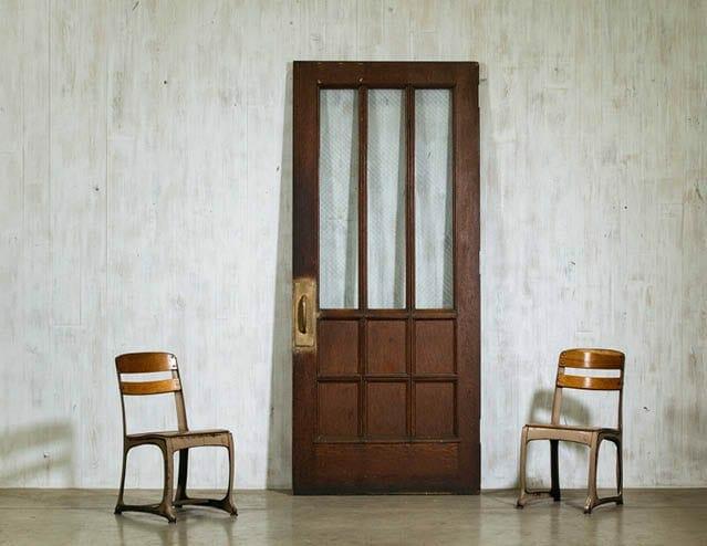 six-panel schoolhouse door