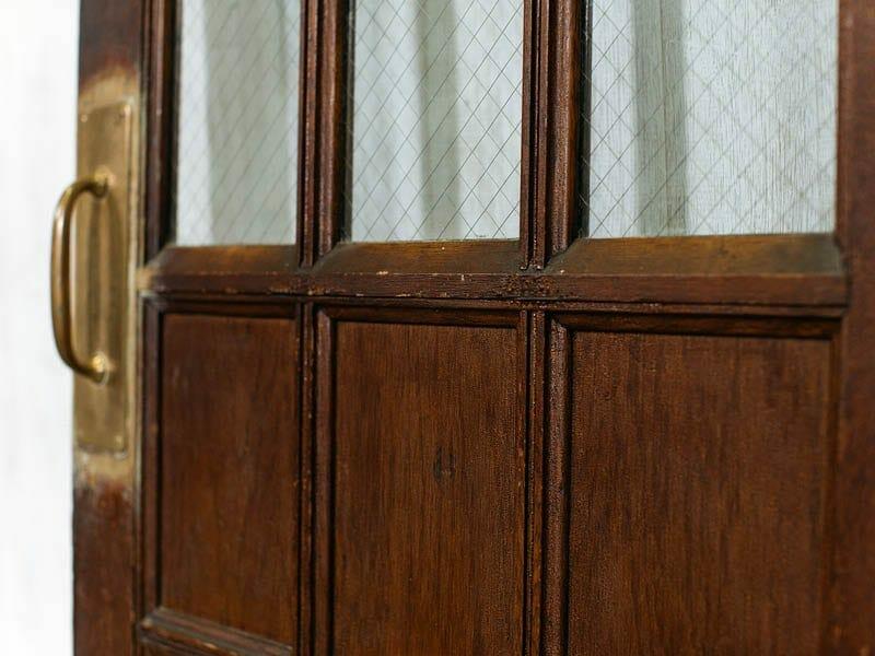 six-panel vintage schoolhouse door