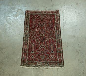 vintage sarouk area rug