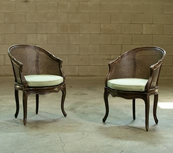 Louis XV Cane Chairs
