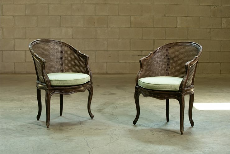 Louis XV Cane Chairs
