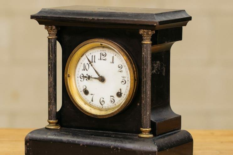 antique new haven clock