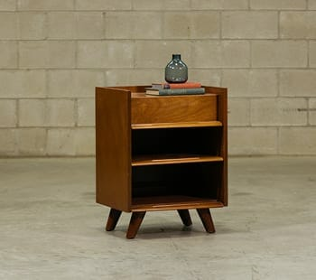 edmond spence midcentury modern side table