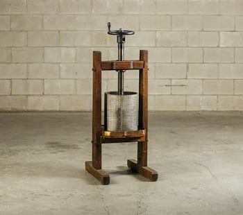vintage fruit press