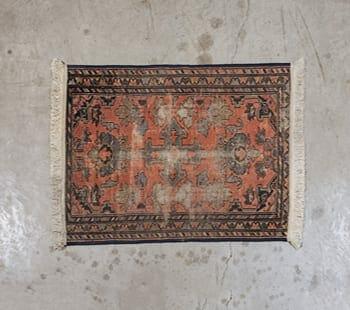 vintage oriental throw rug