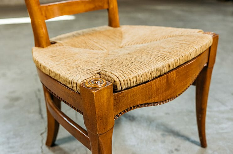 french-style vintage bird chairs