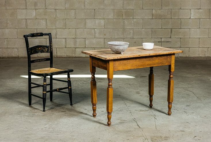pine country work table