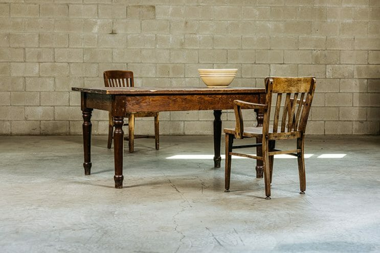 primitive southern table