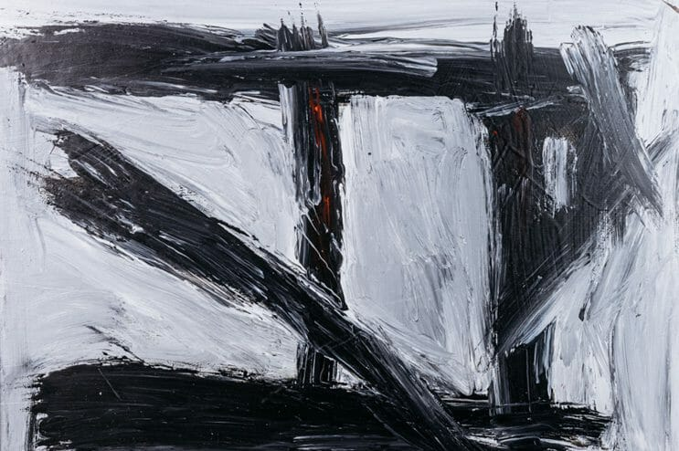 pugini abstract painting